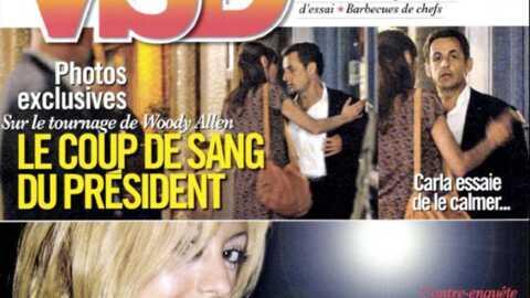 Les photos de la crise de Nicolas Sarkozy dans VSD!
