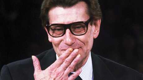 Yves Saint Laurent Un enterrement très VIP