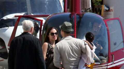 Angelina Jolie et Brad Pitt Week-end surchargé