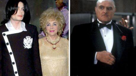 L'incroyable fuite de Michael Jackson, Liz Taylor et Marlon Brando