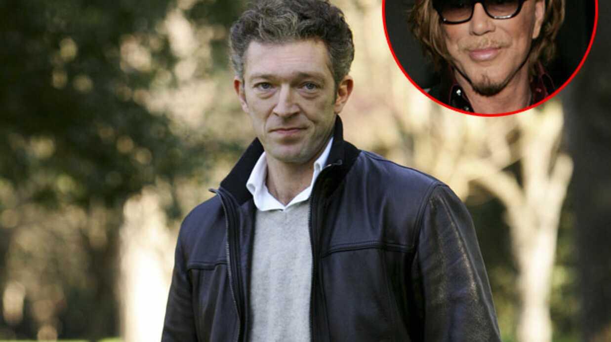 Vincent Cassel avec Mickey Rourke dans un prochain film