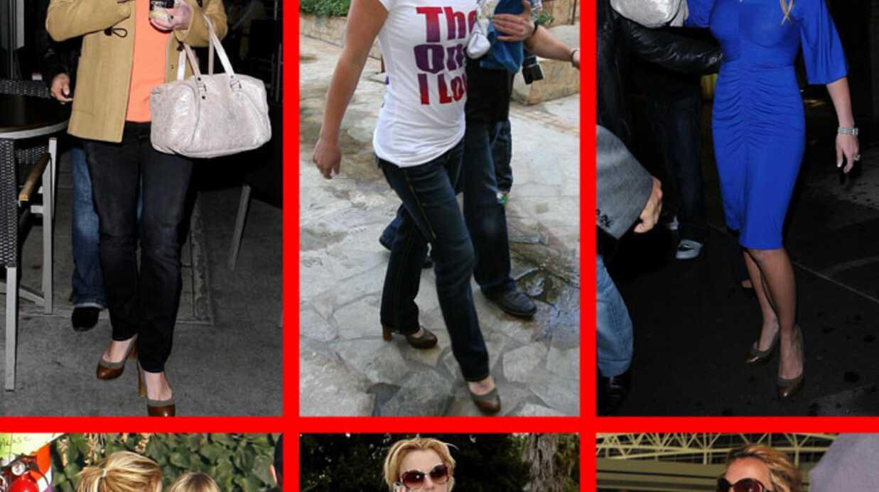EXCLU: Britney Spears ne lâche plus sa paires de chaussures