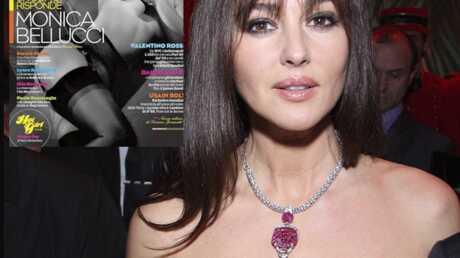 Monica Belluci: topless et ultra sexy dans GQ