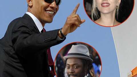 Les stars fêtent la victoire de Barack Obama en chanson