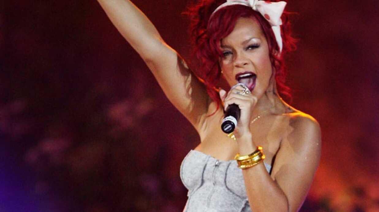 Rihanna a lancé les illuminations de Noël à Londres