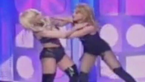 VIDEO Madonna et Lady Gaga se bagarrent en direct