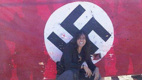 VIDEO Michelle Rodriguez et le drapeau nazi: fausse polémique