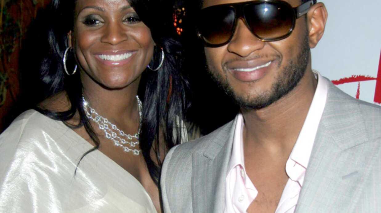 Usher a quitté sa femme enceinte