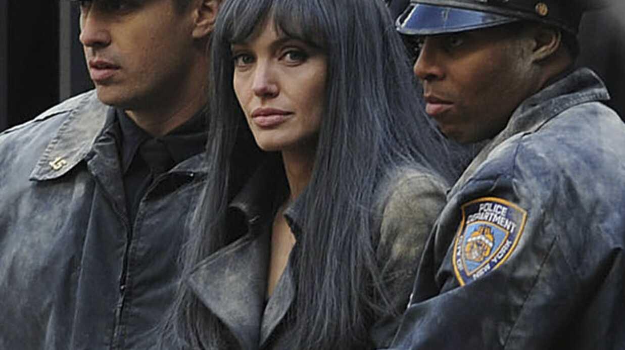 Angelina Jolie s'évanouit sur le tournage de Salt