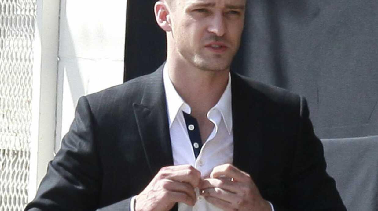 Justin Timberlake blessé durant le tournage de Now