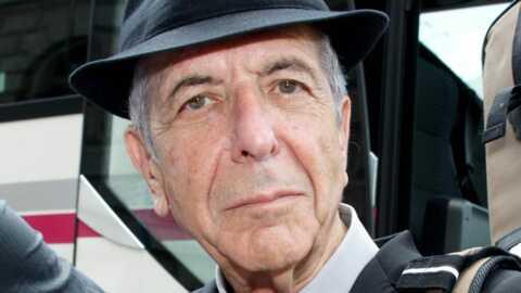 Leonard Cohen: Blessé, il repousse sa tournée européenne