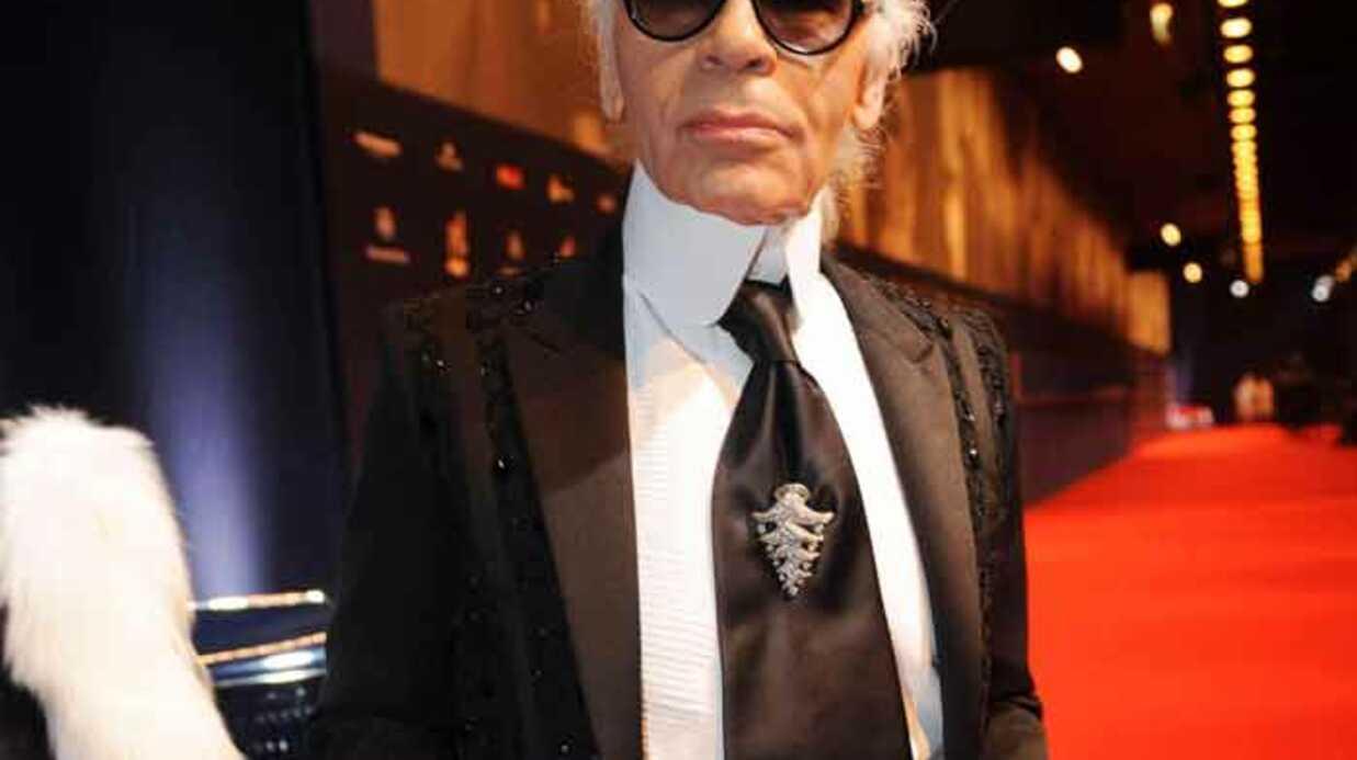Karl Lagerfeld: la campagne Chanel au Père Lachaise