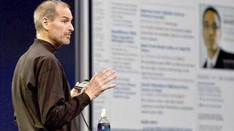 Steve Jobs, le patron d'Apple est malade