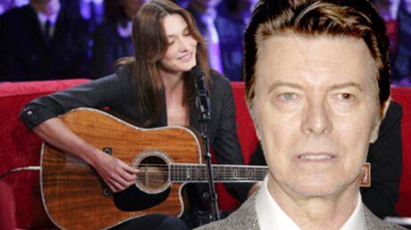 Carla Bruni chante sur un album tribute à David Bowie