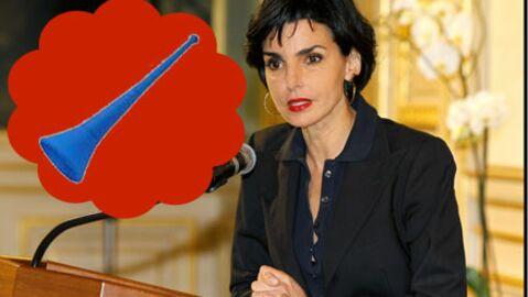 Rachida Dati jouera de la vuvuzela au Parlement Européen