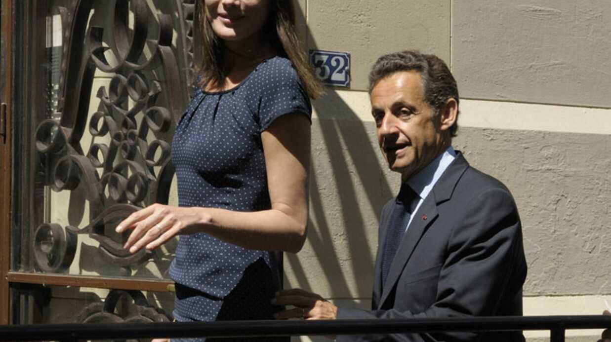 Nicolas Sarkozy et Carla Bruni ont voté ensemble pour la première fois