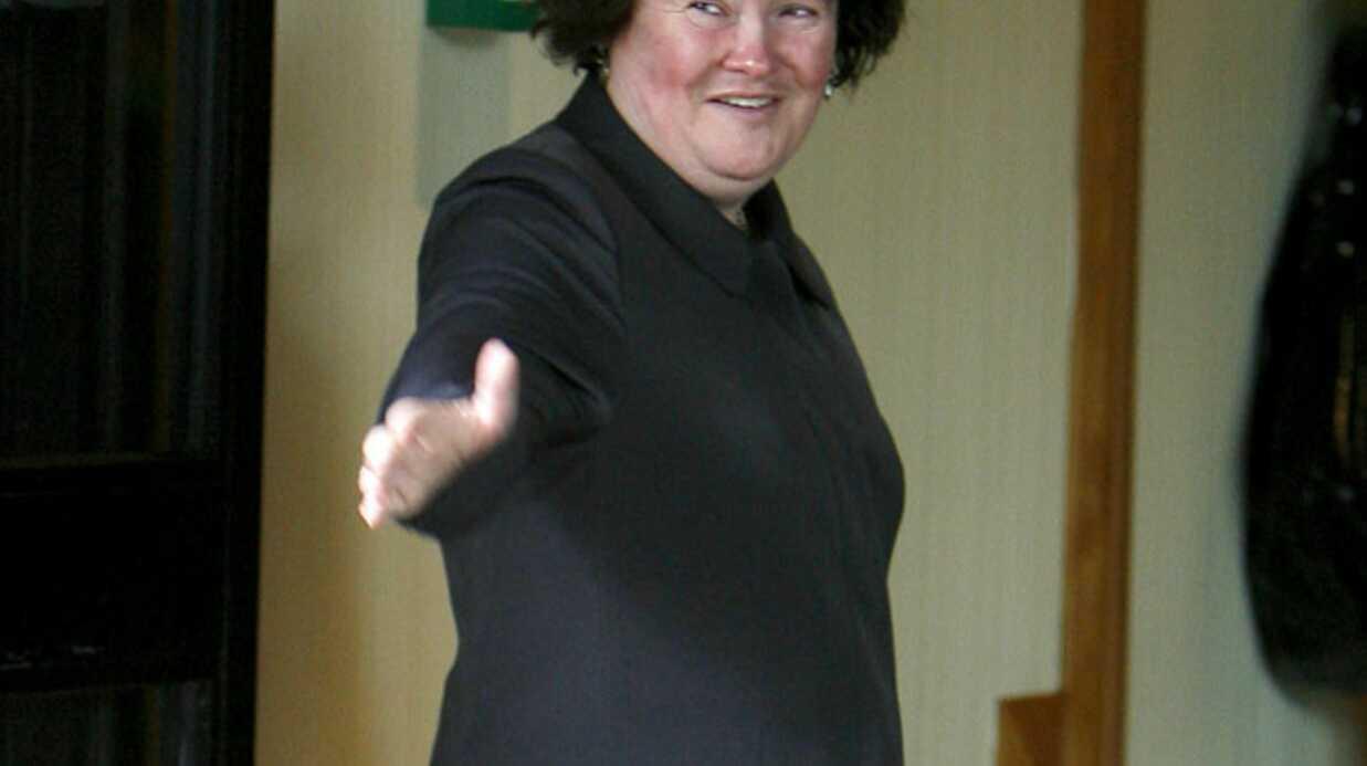 Susan Boyle: première apparition publique  après son hospitalisation