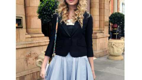 LOOK Taylor Swift est son style country-glamour