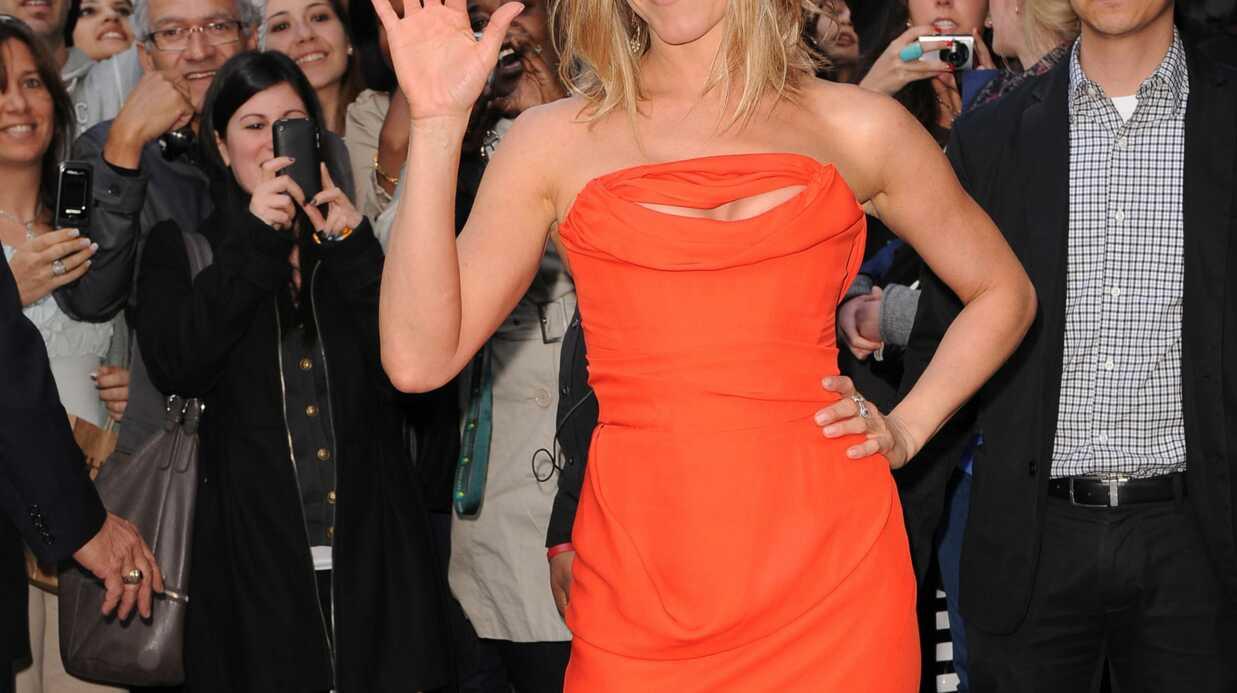 LOOK Jennifer Aniston joue la carte orange