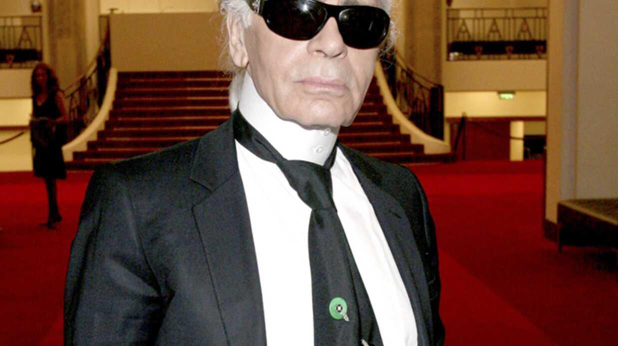 Karl Lagerfeld Minces, alors!