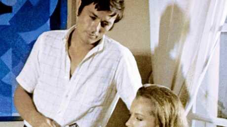 Alain Delon trouve déplorable le biopic sur Romy Schneider