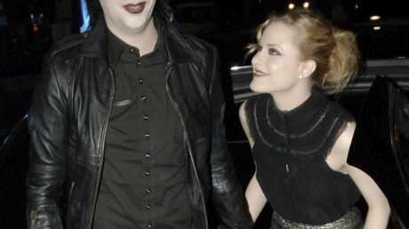 Marilyn Manson et Evan Rachel Wood ensemble