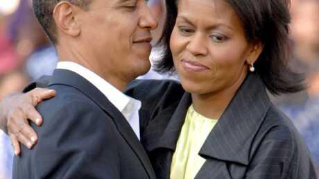 Michelle Obama: sa robe dans la lumière
