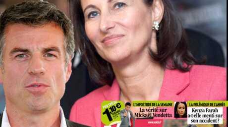Photos de Ségolène Royal et Bruno Gaccio: Samedi dans VOICI!