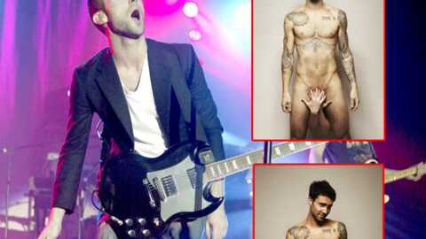 Maroon 5 : Adam Levine pose nu contre le cancer