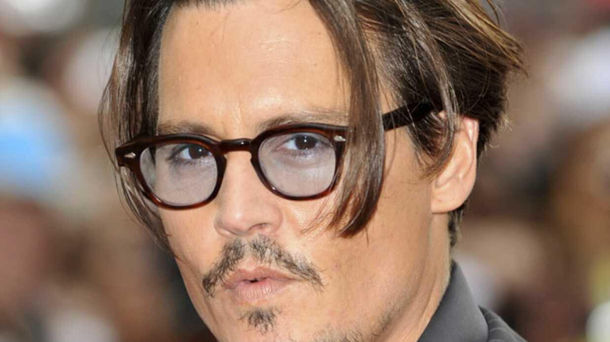 Johnny Depp parle de son bonheur avec Vanessa Paradis