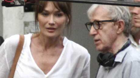Woody Allen lance des fleurs à Carla Bruni-Sarkozy