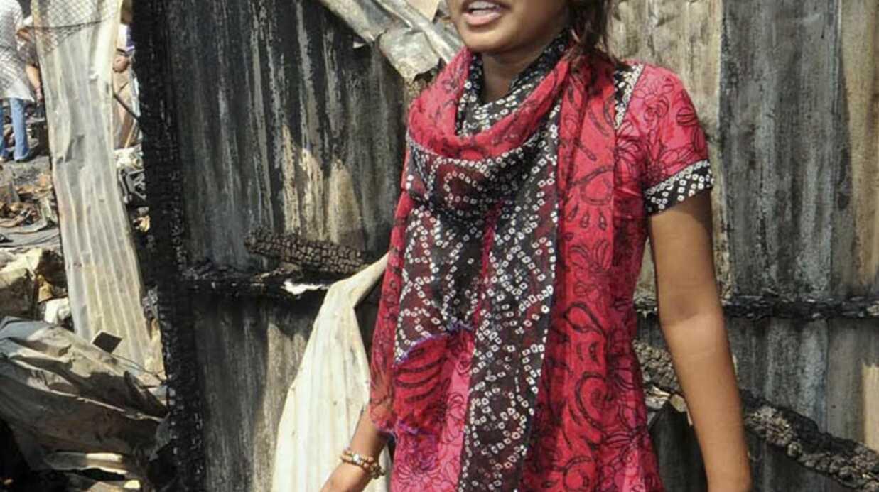 Slumdog Millionnaire: le bidonville de Latika incendié