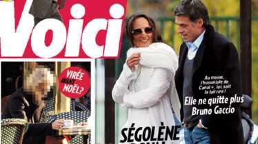 Ségolène Royal retrouve le sourire auprès de Bruno Gaccio