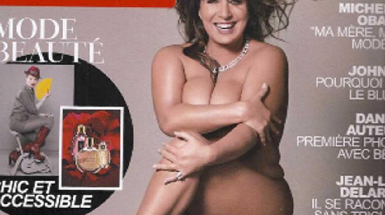 Marianne James pose nue pour Gala