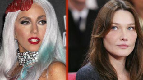 Lady Gaga plus puissante que Carla Bruni selon Forbes