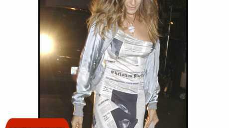 LOOK Sex and the City 2: Sarah Jessica Parker célèbre Christian Dior