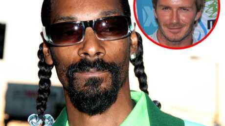 Snoop Dogg – David Beckham: un groupe en famille?