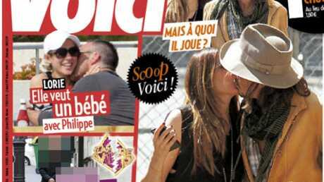 Johnny Depp embrasse une autre femme demain dans Voici