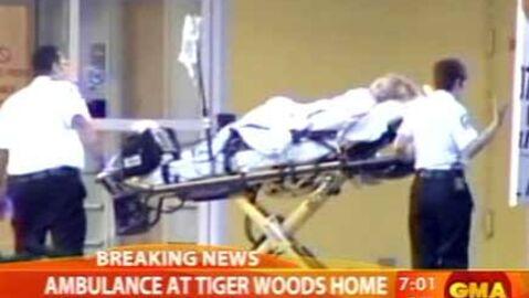 Tiger Woods: sa belle-mère admise à l'hôpital