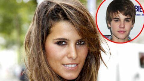 Karine Ferri a tapé dans l'œil de Justin Bieber