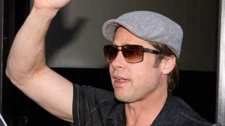 Brad Pitt est arrivé en Hongrie avec ses jumeaux