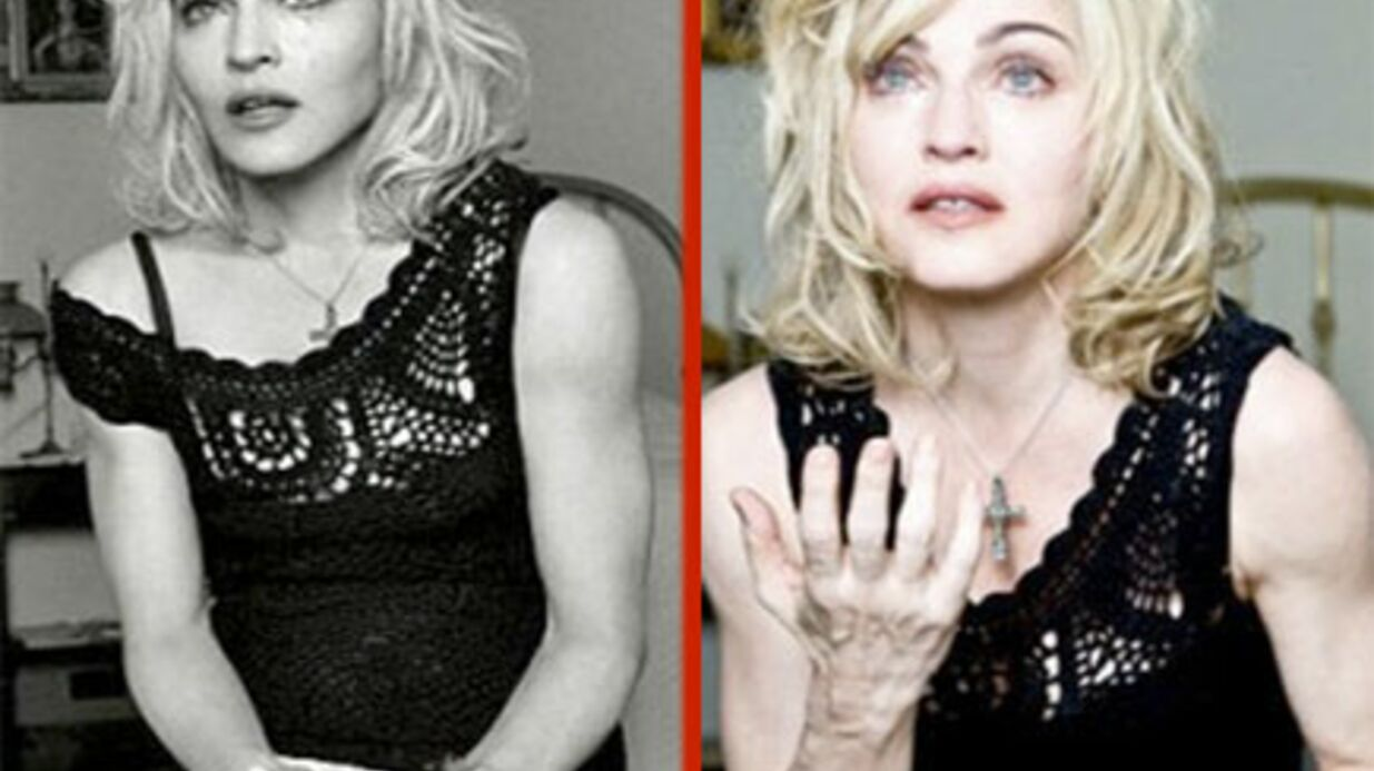 Madonna: furieuse à cause de photos non-retouchées
