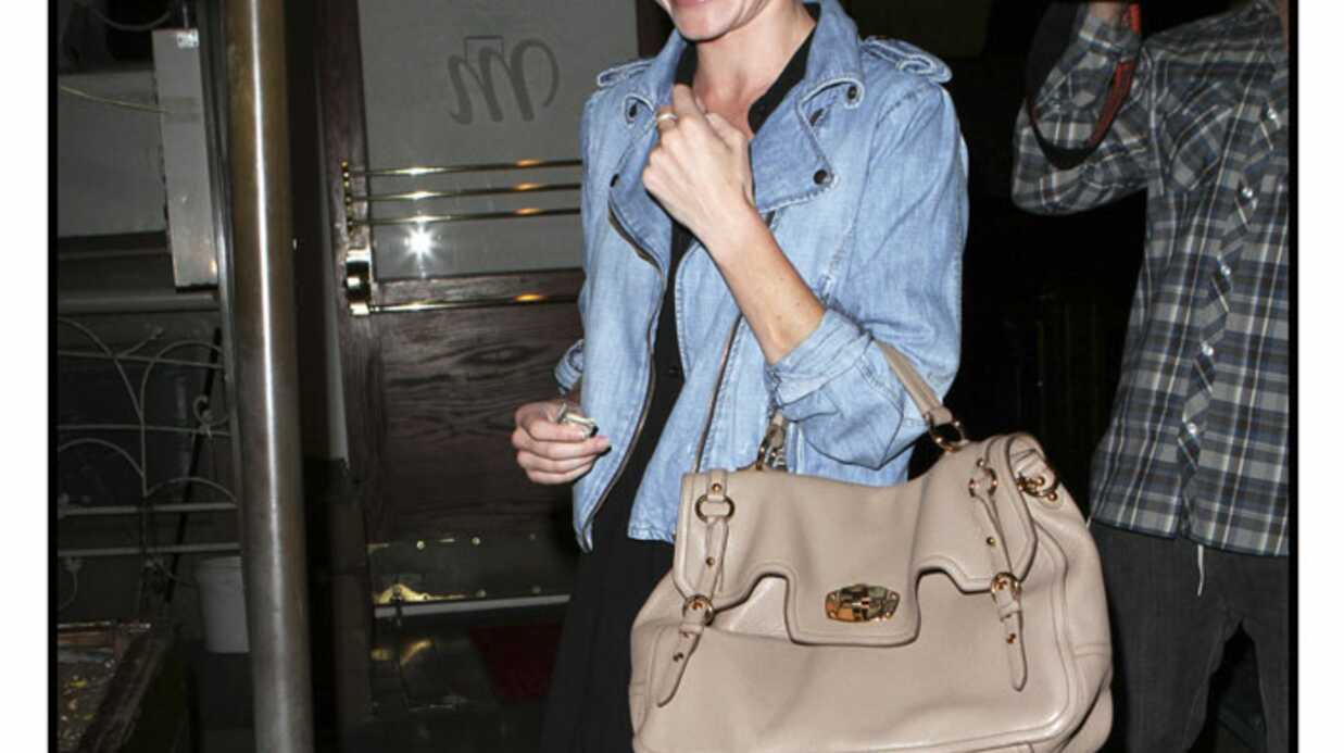 LOOK Kate Bosworth parfaite en perfecto denim