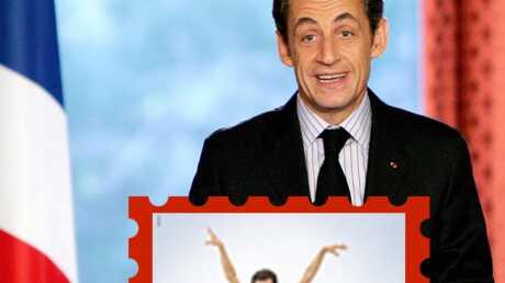 Nicolas Sarkozy: caricaturé dans une pub allemande