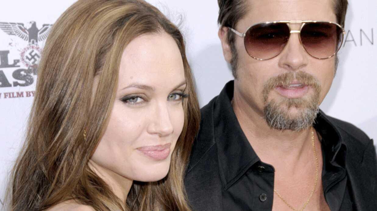 Brad Pitt et Angelina Jolie: leur Saint-Valentin avec Sean Penn