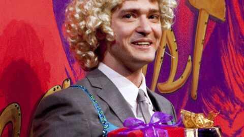 Justin Timberlake élu homme de l'année à Harvard