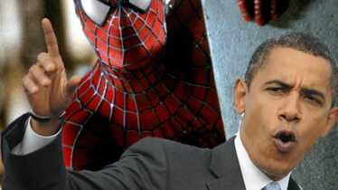 Obama se fait une toile