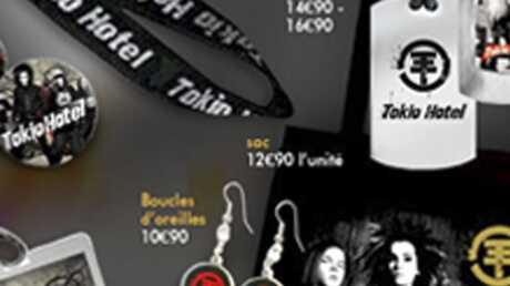 Des bijoux Tokio Hotel seront vendus chez Claire's