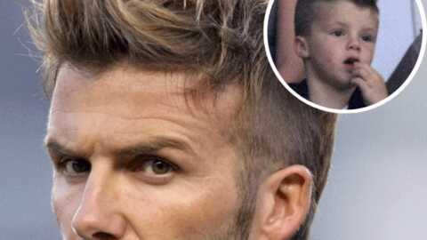 David Beckham: nouvelle coupe de cheveux