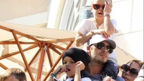 La famille Beckham apprend la langue des signes